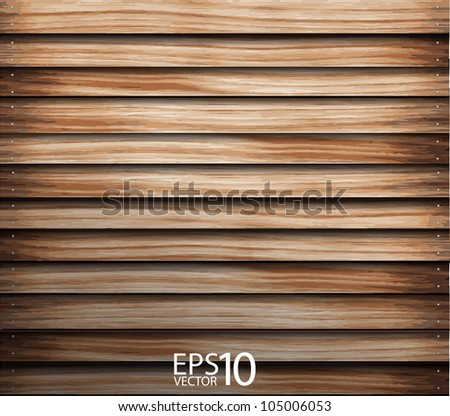 vector wood wall. grunge industrial interior Uneven diffuse lighting version. Design component - stock vector