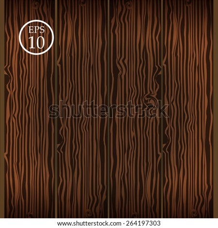 Vector wooden background. Eps 10 - stock vector