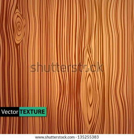 Vector wooden texture - stock vector