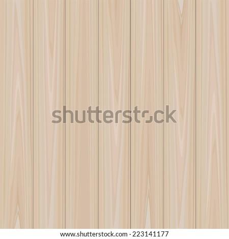 Vector wooden texture background. - stock vector