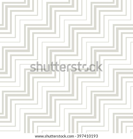 Vector zigzag pattern. Seamless dotted background. Repeating monochrome texture. Simple minimalistic swatch. - stock vector