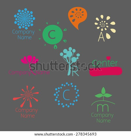 Version of the color logo. Can be used for: psychological counseling centers, development, coaching, self-development courses, children's centers, family and child therapy, etc. Different colors. - stock vector