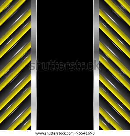 Vertical seamless urban background, vector illustration, eps10 - stock vector