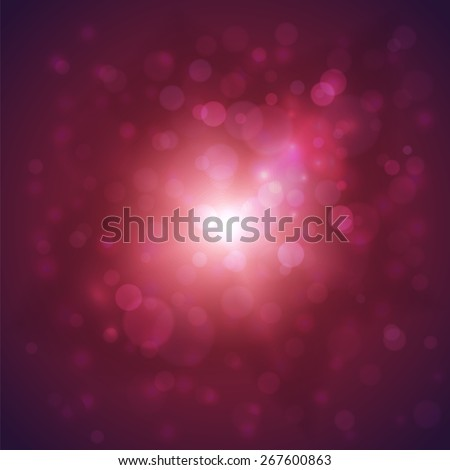 Vibrant  background with defocused lights - eps10 - stock vector