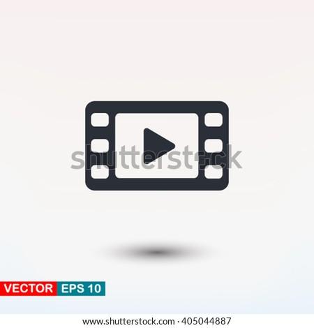 Video icon, Video icon eps, Video icon art, Video icon jpg, Video icon web, Video icon ai, Video icon app, Video icon flat, Video icon logo, Video icon sign, Video icon ui, Video icon vector, Video - stock vector