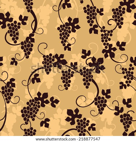 Vine pattern - stock vector