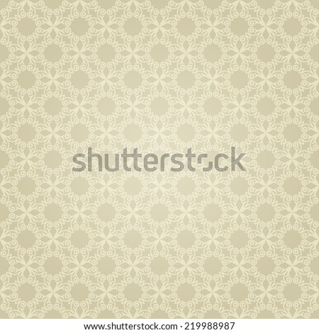 Vintage Background Traditional Ottoman motifs.Decorative seamless pattern in mosaic ethnic style.Vector illustration - stock vector