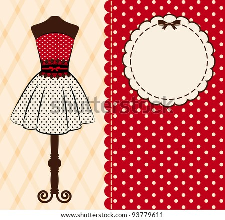 Vintage background with lace ornaments. Vector - stock vector