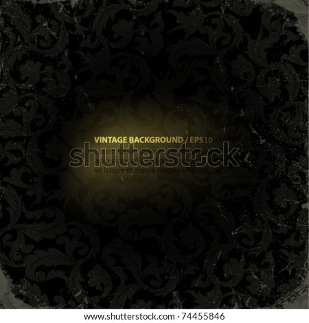 Vintage backgrounds set with copyspace. Easy editable by layers, eps10. - stock vector