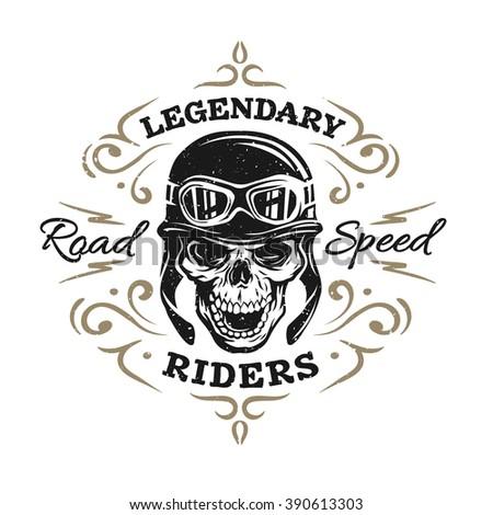 bikers skull logo - photo #11
