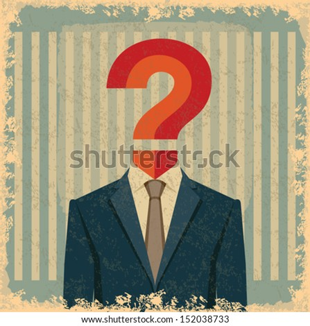 vintage business idea - stock vector