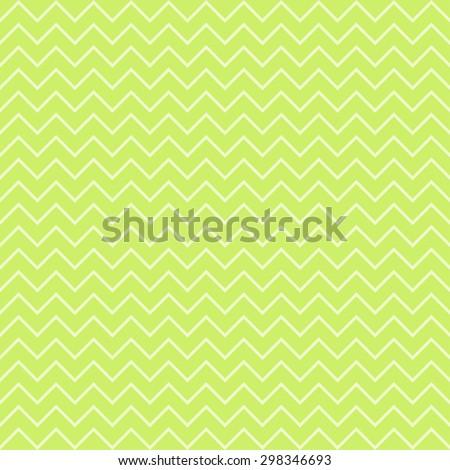 Vintage Chevron Pattern, lime green. - stock vector