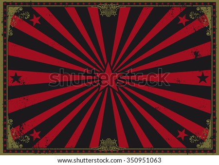 Vintage horizontal background. A dark vintage poster for your advertising. Perfect size for a screen. - stock vector