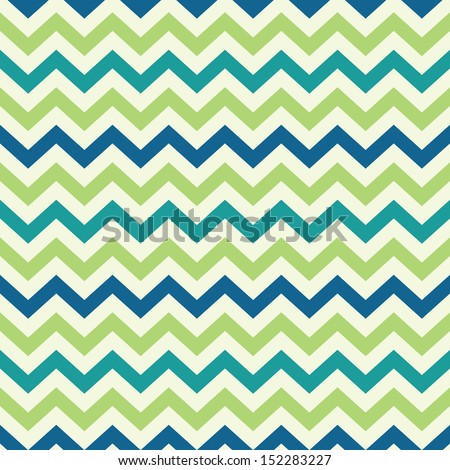 vintage popular zigzag chevron pattern - stock vector