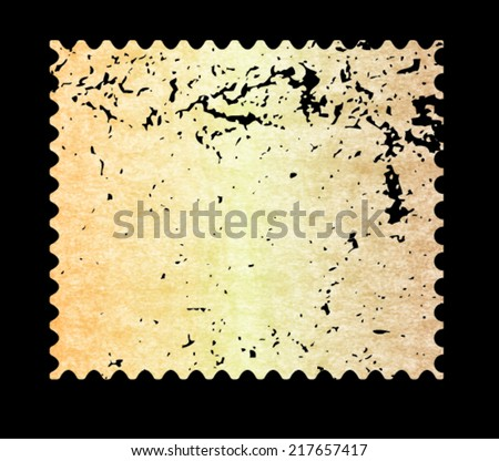 Vintage postmark. Vector illustration. - stock vector