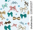 Vintage Ribbons and Bows - stock vector