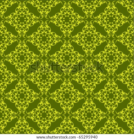 vintage seamless background vector - stock vector