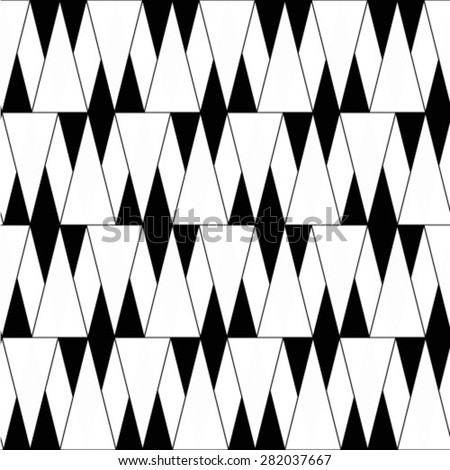 Vintage single color seamless tiles, vector seamless pattern. - stock vector