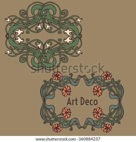 vintage style labels on different topics for decoration and design vector - stock vector
