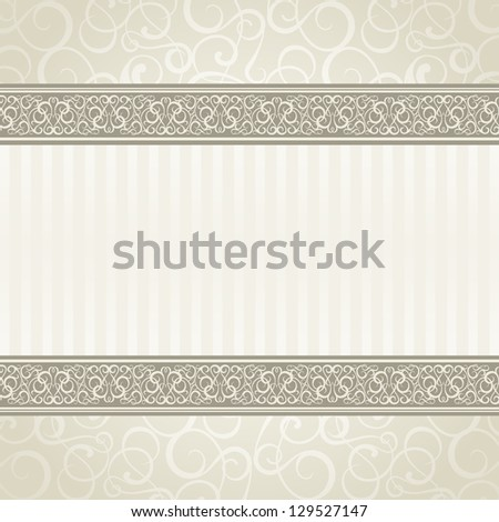 Vintage styled card. Vector illustration, eps10, contains transparencies, gradients and effects. - stock vector