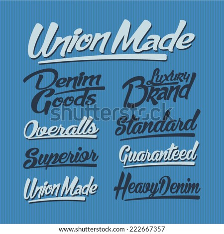 vintage typography; t-shirt typography, vintage , retro  - stock vector