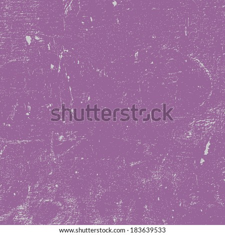 Violet Distressed Texture for your design. EPS10 vector. - stock vector