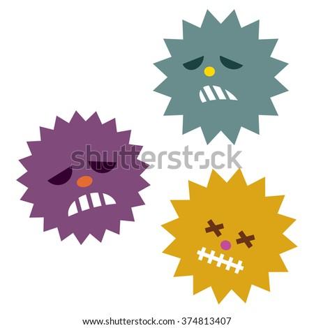 Virus - stock vector