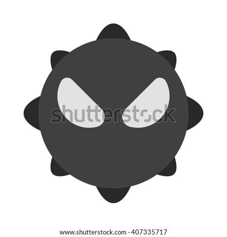 Virus icon. - stock vector