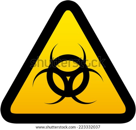 Virus sign - stock vector