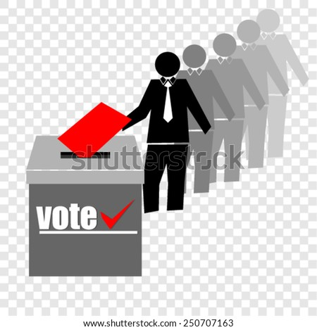 VOTE - stock vector