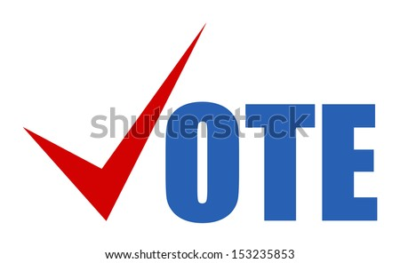 vote - Election Day Vector Illustration - stock vector