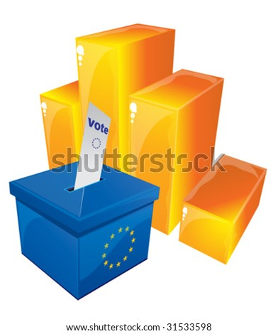 Voting Box 4 - stock vector