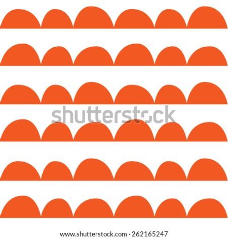 wallpaper texture or background retro orange - stock vector