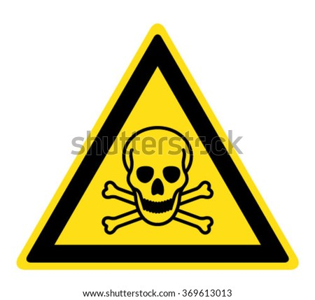 Toxic Symbol Black And White Toxic Stock Pho...