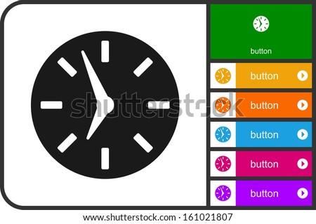 Watch - stock vector