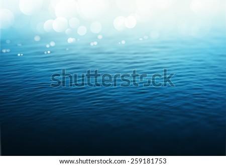 Water background, gradient mesh, eps 10 - stock vector
