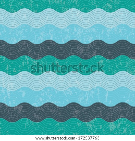 water design over pattern background vector illustration - stock vector
