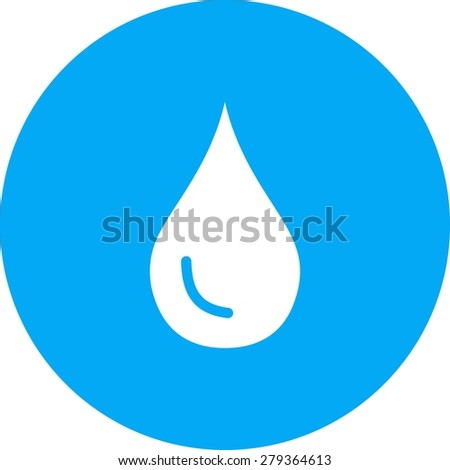 Water, droplet, pipe icon vector image. Can also be used for energy and technology. Suitable for web apps, mobile apps and print media. - stock vector