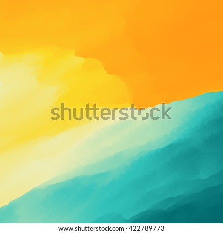 Water Wave. Water Surface. Nature background. Modern pattern. Vector Illustration. - stock vector