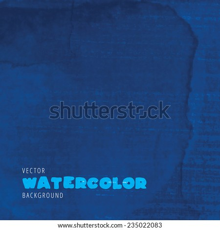 Watercolor background. Retro background. Vintage background. - stock vector