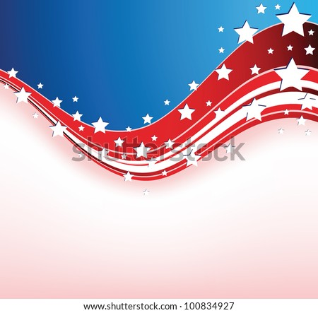 Wave pattern - stock vector