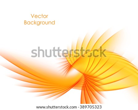 wavy abstract background with bright lines. Vector design. Eps10 - stock vector