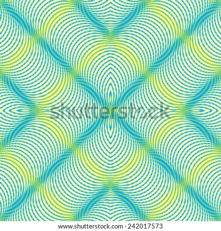 wavy colorful stripes pattern, abstract seamless texture, image contains transparency - stock vector