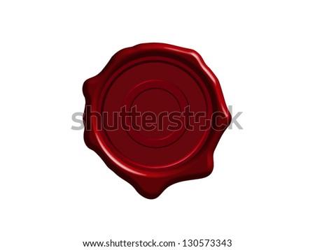 Wax Seal - stock vector