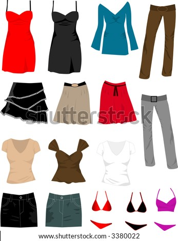 Wear Collection - stock vector