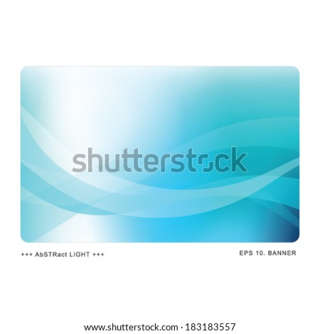Web banner image - Abstract template with copy space - stock vector