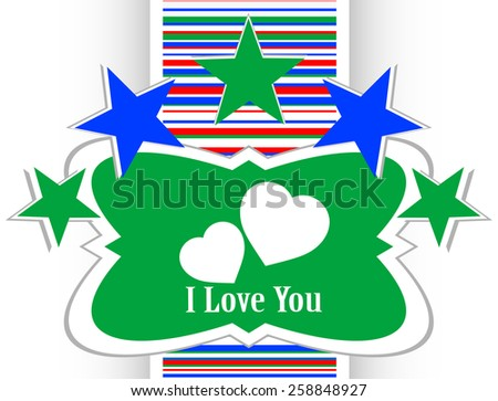 web 2.0 button with heart sign. Round shapes icon - stock vector