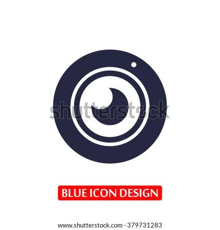 Web camera Icon, web camera icon flat, web camera icon picture,  - stock vector