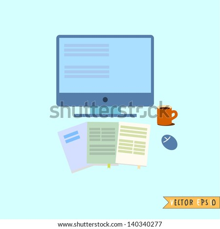 Web Development - stock vector