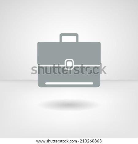 Web icon. Portfolio - stock vector